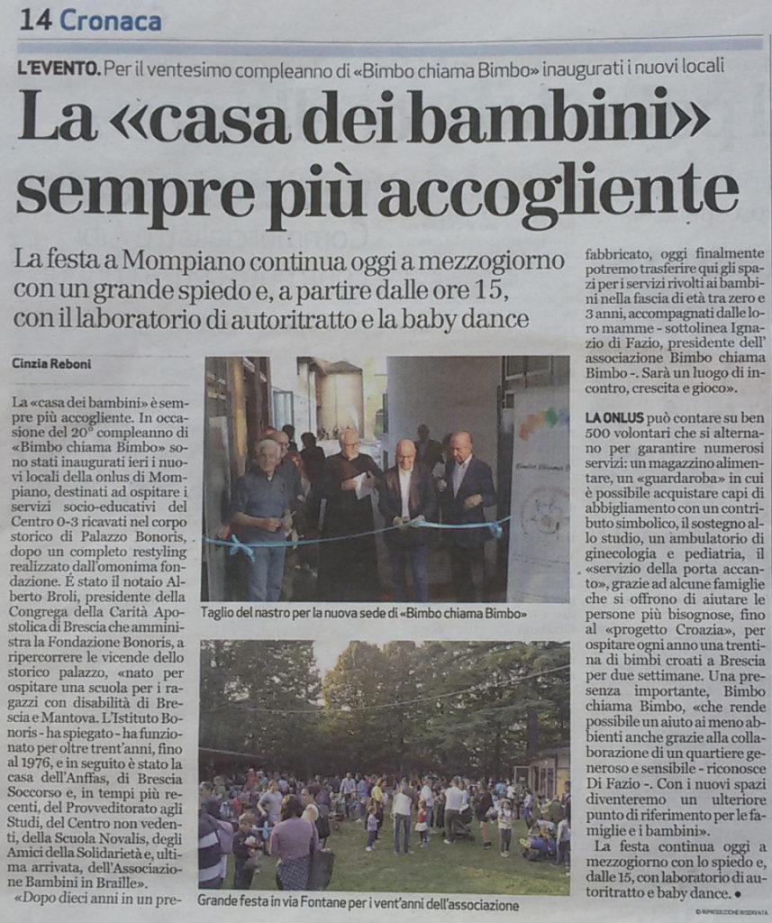 Bresciaoggi - Nuova sede 2018