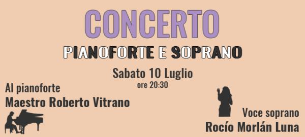 Concerto pianoforte e soprano