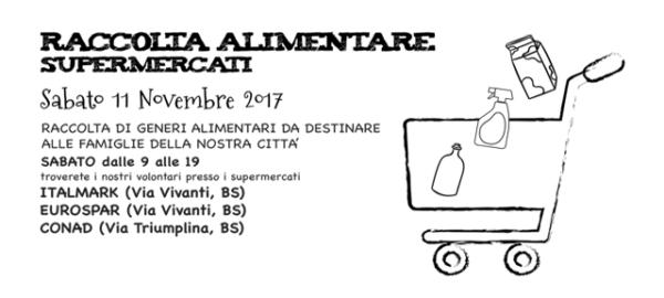 RACCOLTA ALIMENTARE NOVEMBRE 2017