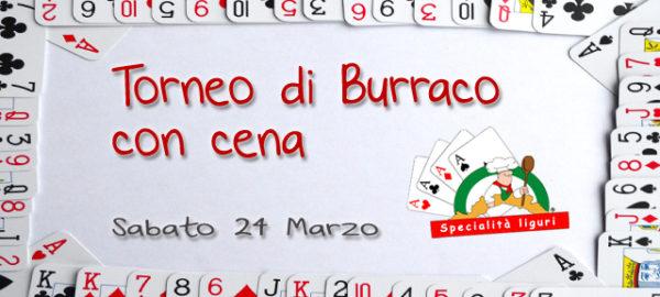 Torneo di Burraco con cena