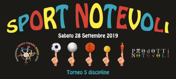 Torneo Sport Notevoli