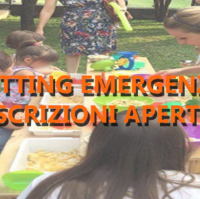 APERTE LE ISCRIZIONI PER IL BABY SITTING EMERGENZA 2017