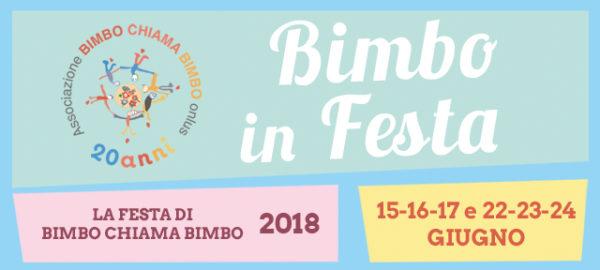 BIMBO IN FESTA 2018!