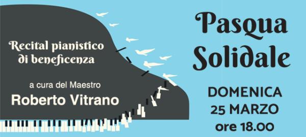 Recital pianistico per una Pasqua Solidale