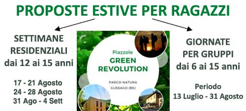 Green revolution - Proposte estive per ragazzi