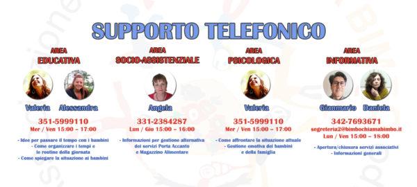 Supporto telefonico