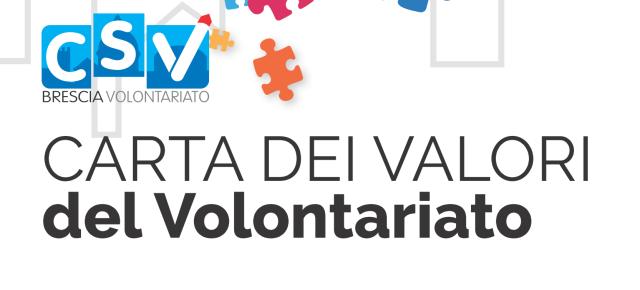 Carta dei valori del volontariato